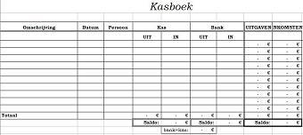 Gratis Excel Kasboek